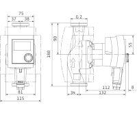 WILO Stratos PICO 30/1-4 oběhové čerpadlo pro topení