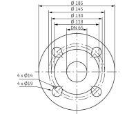 WILO Stratos 65/1-9 oběhové čerpadlo pro topení