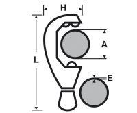 Virax řezák na Cu trubky 6-28 mm Profi pákový