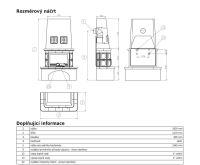 ABX Laponie -Kachlová kamna s výměníkem 7kw hnědá | AKCE kazeta značkového vína