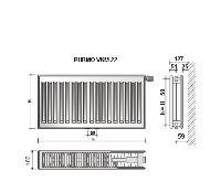 Radiátor VKM 22-400/1600 - PURMO