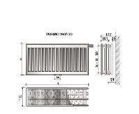 Radiátor VKM 33-300/1800 - PURMO