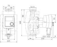 WILO Stratos PICO 25/1-4 oběhové čerpadlo pro topení