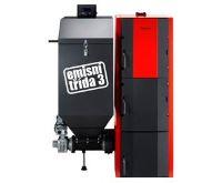Dakon FB2 25 Automat Kotel na tuhá paliva - levý