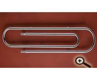 Chromový koupelnový radiátor PMH CLIP CL2C 1700/ 373