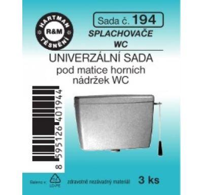 Hartman sada 194 universální k nádrži WC