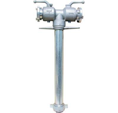 Hydrantový nástavec s kulovým uzávěrem