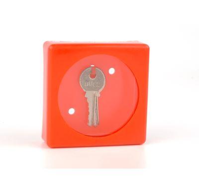 Skříňka na klíč malá - plastová