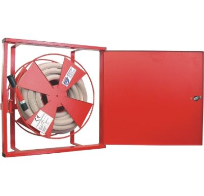 Hydranty DN 25 - 20 m - do zdi, plná, proudnice 10