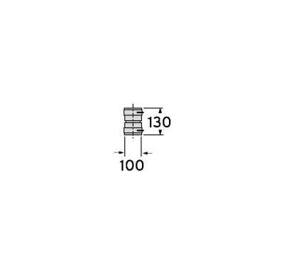 Vaillant Sada 6:spojovací prvek s hrdlem,O80mm,PP