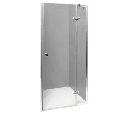 PROFI-RICH sprchové dveře  80x190 - chrom - sklo - čiré