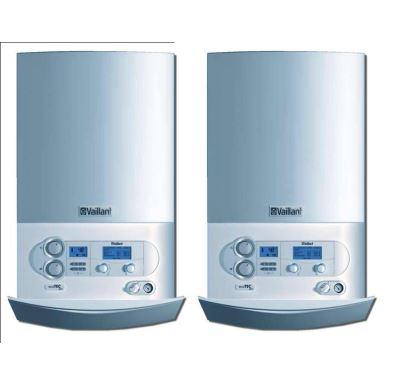 Vaillant 2x VU 356/5-5 ecoTEC plus Kotel kondenzační + calor MATIC 630/3 + modul VR 32