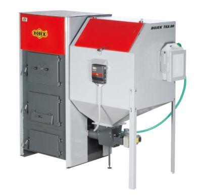Rojek TKA BIO 80 Automatický kotel na tuhá paliva