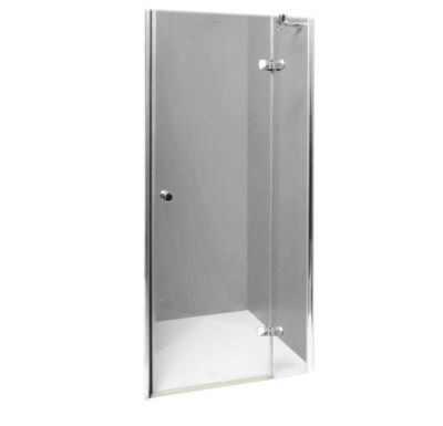 PROFI-RICH sprchové dveře  90x190 - chrom - sklo - point