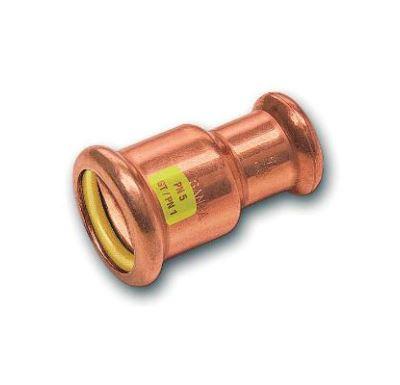 CU lisovací nátrubek redukovaný 9240 - 22 x 15 - pro topení i rozvod plynu
