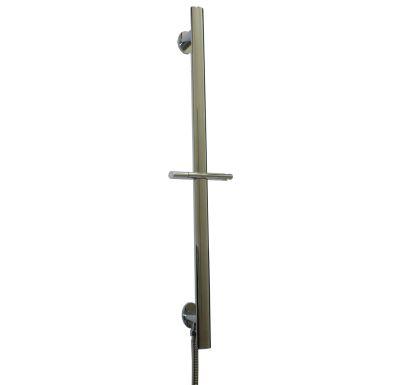 EASY držák sprchy posuvný celomosazný chrom vč. vývodu na hadici CB 900L