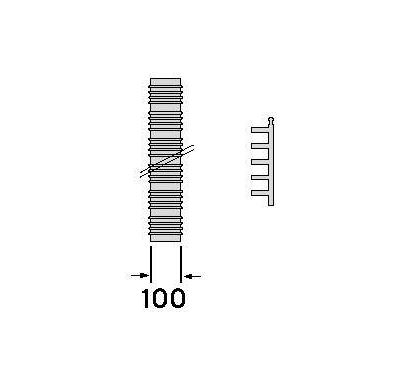 Vaillant Sada 5:flex. hadice pro odvod spalin,15m
