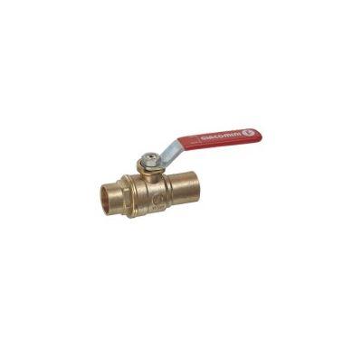 R258D Giacomini kulový kohout voda - 15 páka pájecí