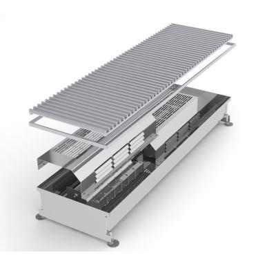 MINIB Podlahový elektrický konvektor COIL-TE 1000mm S ventilátorem