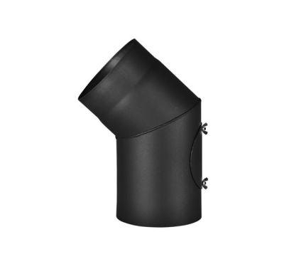Almeva Koleno s čistícím otvorem 45° - ø120