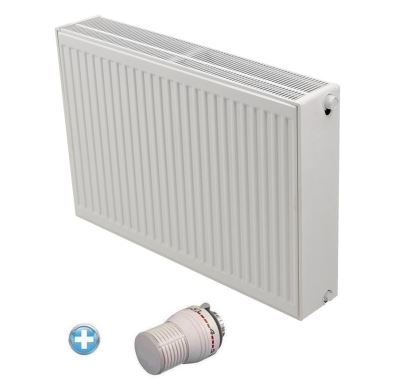 Radiátor VK 33-500/ 500 - Radik - Korado AKCE Termohlavice za 50,- Kč