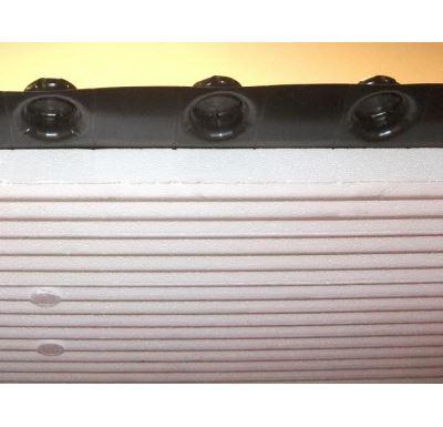 KIIPTHERM Systémová izolační deska SILENZIO 1400x800x52 mm - s fólií EPS/ 1,12m2