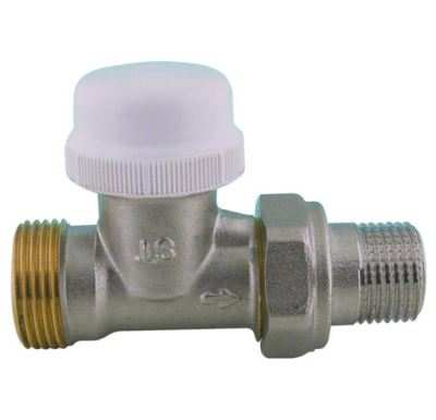 """IVR termostatický ventil přímý DN 15 - 1/2"""" x 3/4"""" EK venkovní"""