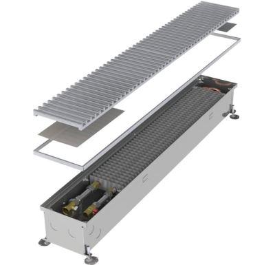 MINIB Podlahový konvektor COIL-KT-0  3000 mm S ventilátorem