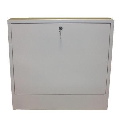 KIIPTHERM Nadomítková skříň bílá se zámkem  760 mm  - K501AN04