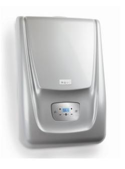 VIADRUS kondenzační kotel K4G3H24ZS - stříbrný s trojcestným ventilem pro TUV