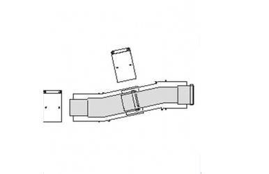 Vaillant Teleskopický plynový vyrovnávací prvek
