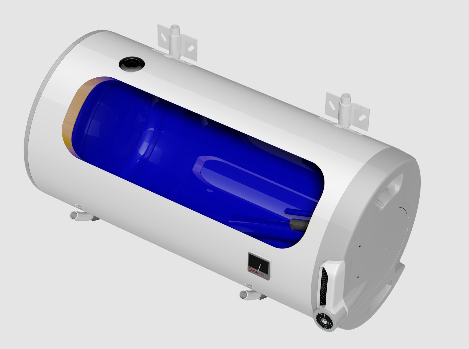 Dražice OKCV 160 model 2016 ohřívač vody kombinovaný ležatý pravý