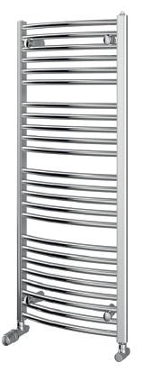 Chromový koupelnový radiátor PURMO Flores C CH 600/1150