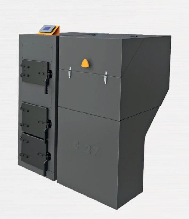 Benekov C 27 PREMIUM Automatický kotel - pravý