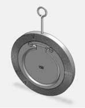 ABO mezipřírubová zpětná klapka DN 40 - PN16