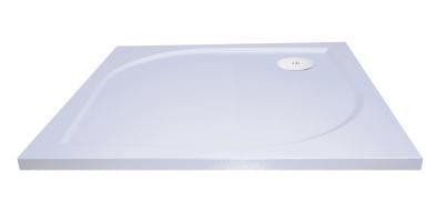 PROFI Vanička čtverec - litý mramor, 100x100x3 cm