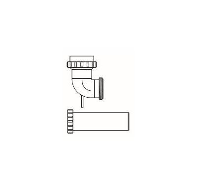 ALMEVA FLEX koleno 87° pro vyvložkování 60mm