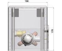 MINIB Nástěnný konvektor COIL-NP-1/4  2000 mm Bez ventilátoru