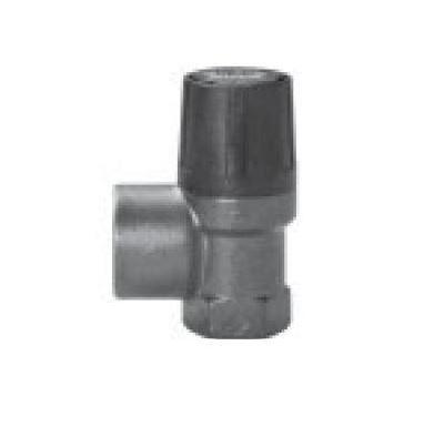 """DUCO pojistný ventil    1/2""""x 3/4""""  2,5 bar - membránový"""