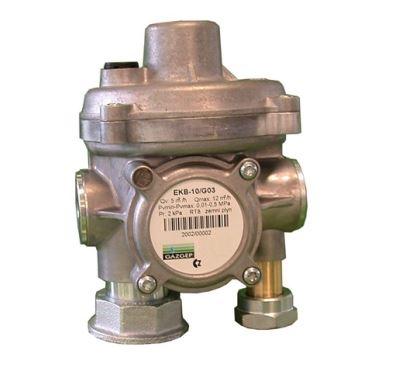 Regulátor tlaku plynu EKB 10 U - U - připojení - bez šroubení