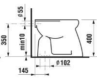 JIKA WC mísa ROMAN | svislý odpad