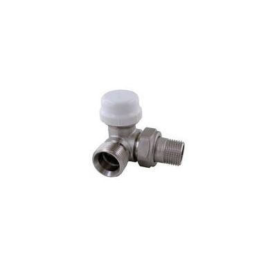 """IVR termostatický ventil rohový LEVÝ DN 15 - 1/2"""" x 3/4"""" EK venkovní (pro žebříky)"""