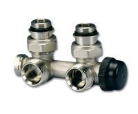"""HM ventil - pro středové připojení 1/2"""" x 3/4"""" EK - rohové"""