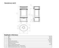 ABX Atrium 7 Krbová kamna - šedý plech (vč.HD) - sklo | AKCE kazeta značkového vína