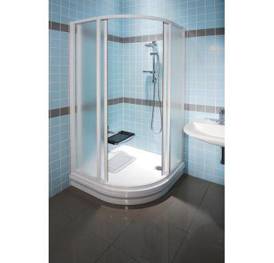RAVAK sprchový kout SUPERNOVA SKCP4 - 80 white+transparent