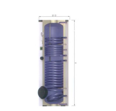 Reflex solární ohřívač pro solární ohřev S500-2