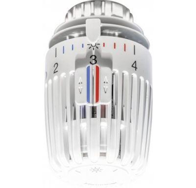 Heimeier termostatická hlavice K bílá (M30x1,5)