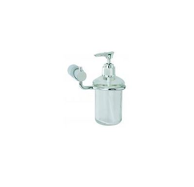 SABA-dávkovač mýdla-chrom/satin/sklo