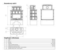 ABX Karelie -Kachlová kamna písková | AKCE kazeta značkového vína