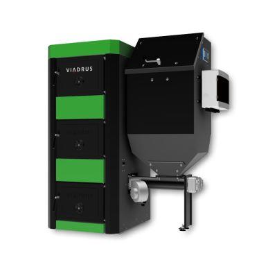 Viadrus A3W Zásobník 268L l Regulace WEB Kotel na tuhá paliva